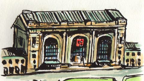Union Station Urban Sketching