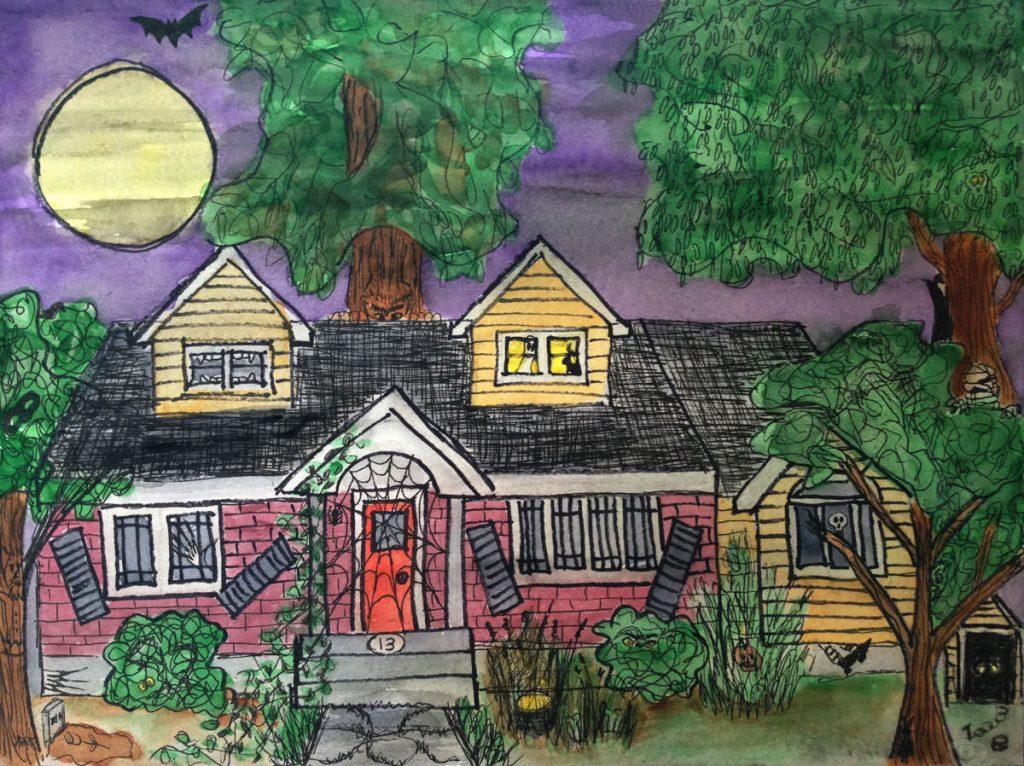 Hidden Halloween Doodlewash Eileen McKenna