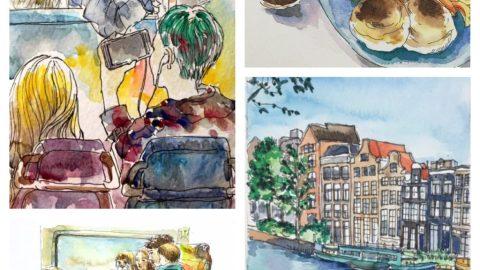 Watercolors by Sunmi An
