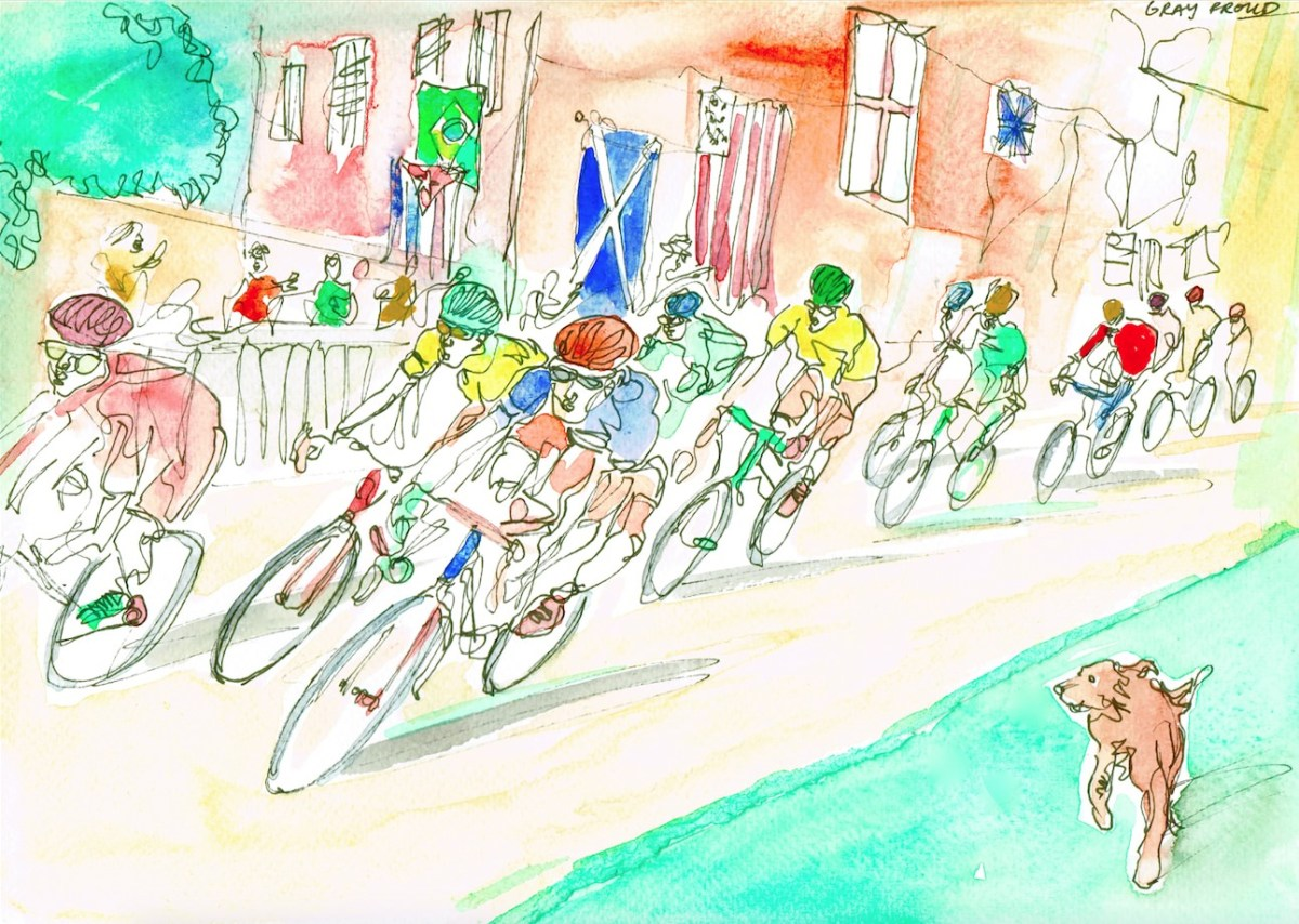 #WorldWatercolorGroup - Watercolor by Gray Proud - #doodlewash
