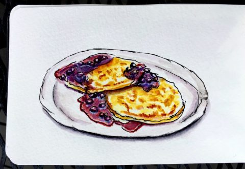 Pancakes by Charlie O'Shields