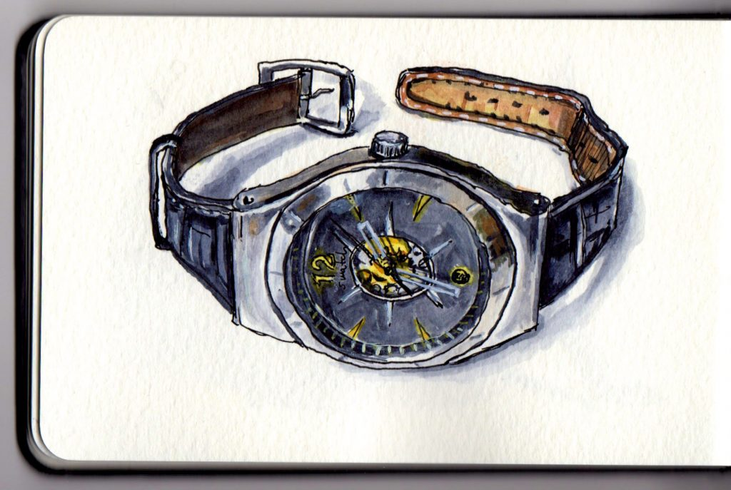 Swatch Doodlewash by Charlie O'Shields