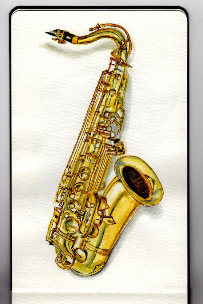 Saxophone Day by Charlie O'Shields