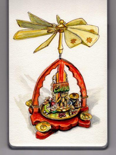Weihnachtspyramide by Charlie O'Shields