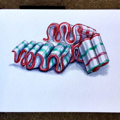 Day 7 - Ribbon Candy