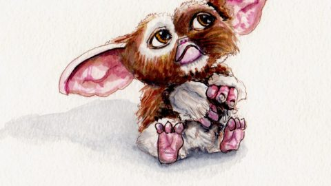 Gizmo from Gremlins Doodlewash
