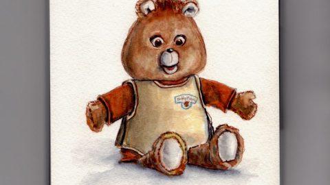 Teddy Ruxpin Doodlewash