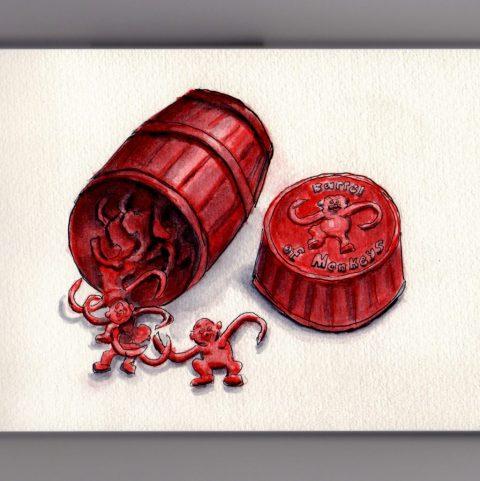 Barrel of Monkeys Doodlewash