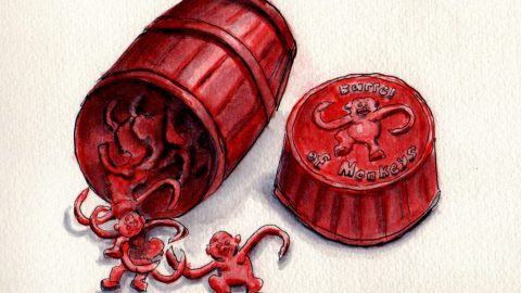 Barrel of Monkeys Doodlewash