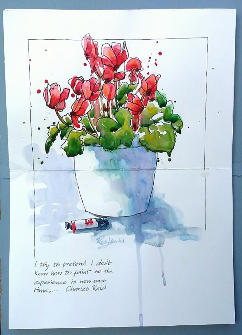 Doodlewash by Ros Jenke