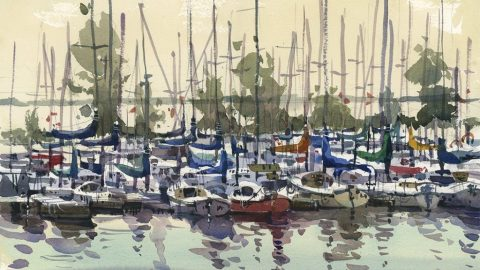 Masts by Shari Blaukopf - (Doodlewash)
