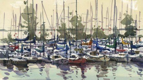 Masts by Shari Blaukopf - (Doodlewash)