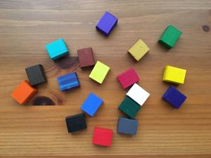 Grace Art watercolor paint cubes free from pans