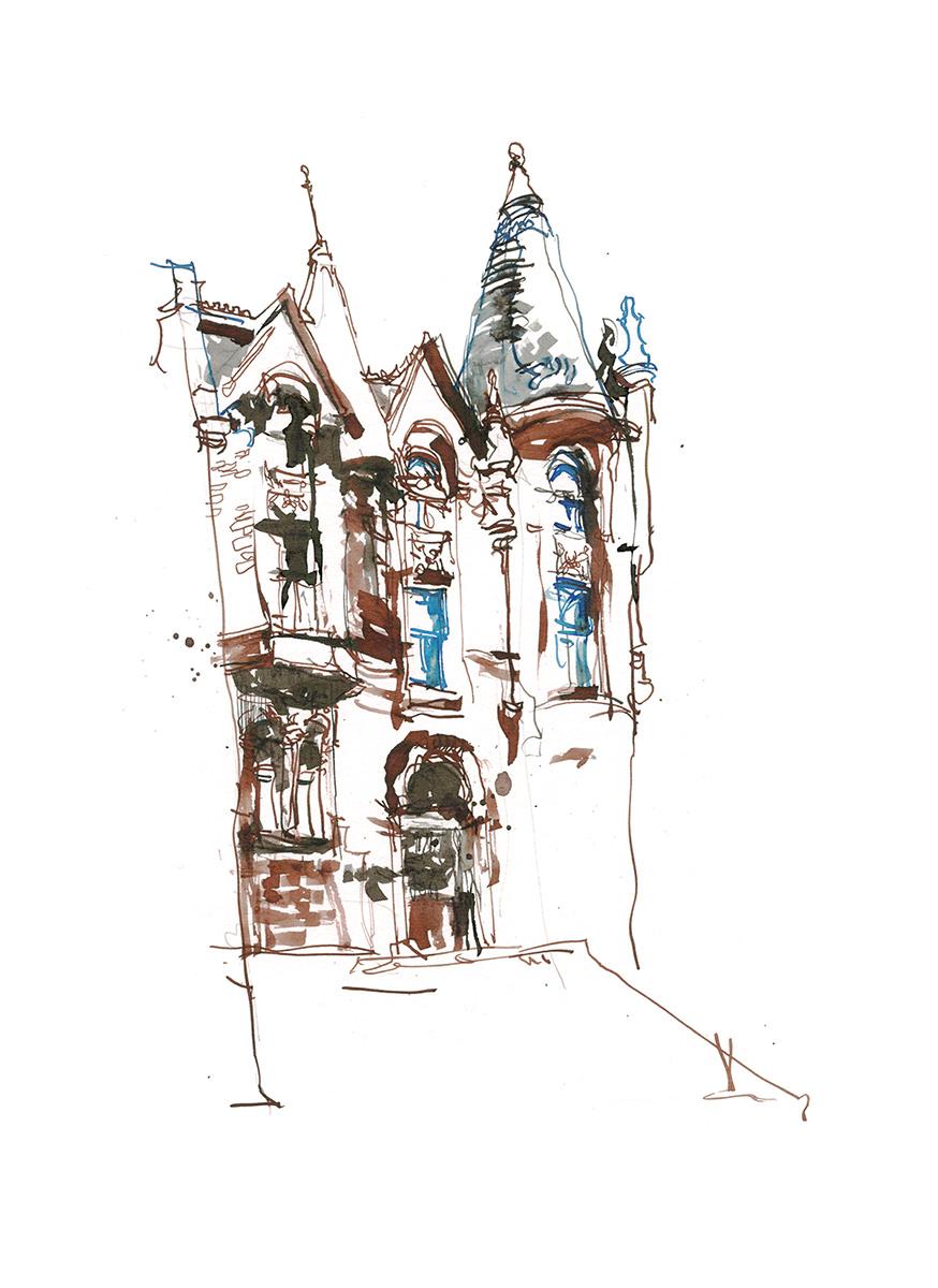 5_16Apr28_Three Times Fast_Auberge Bishop_02_Line - Doodlewash Guest Feature