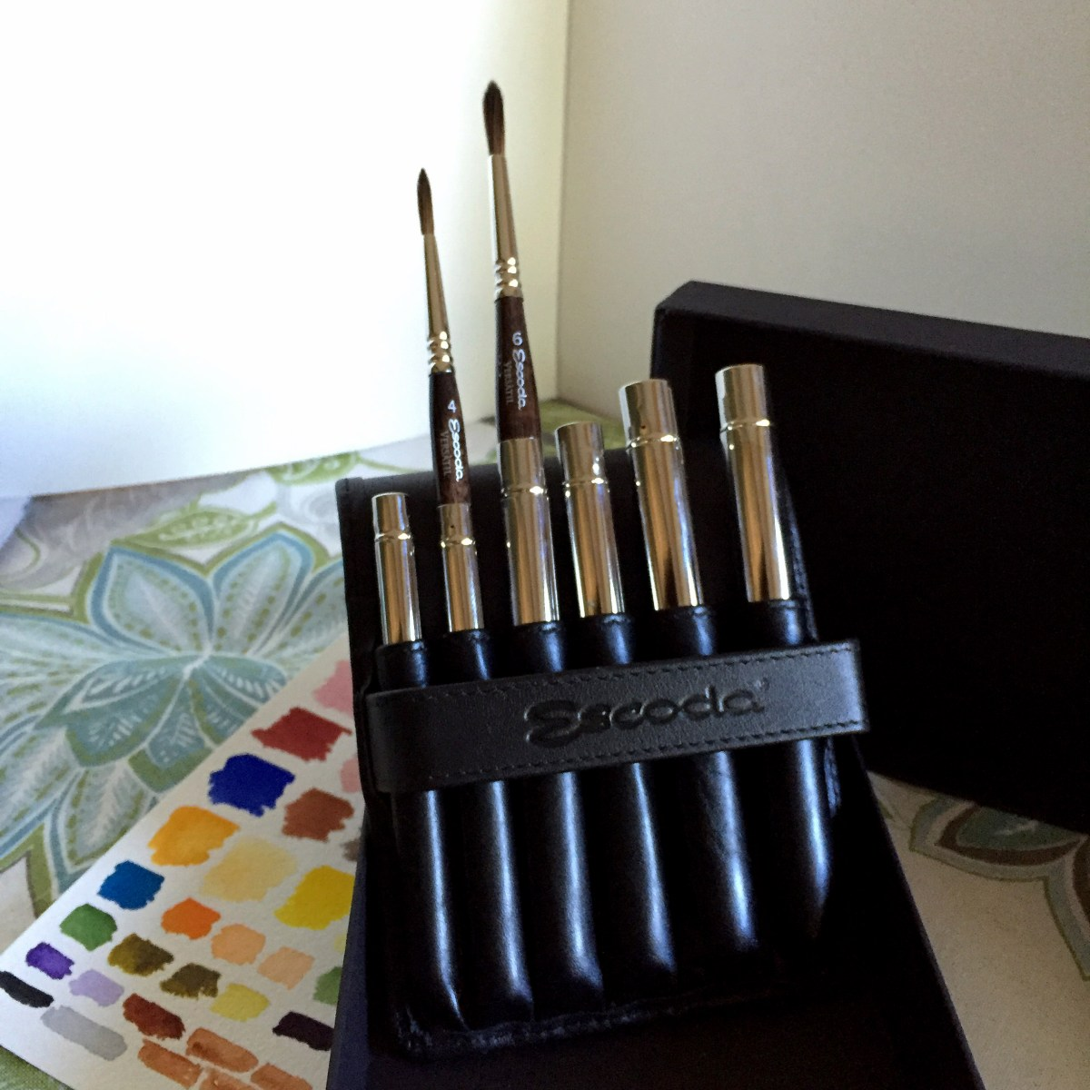 Escoda VERSÀTIL travel brushes set