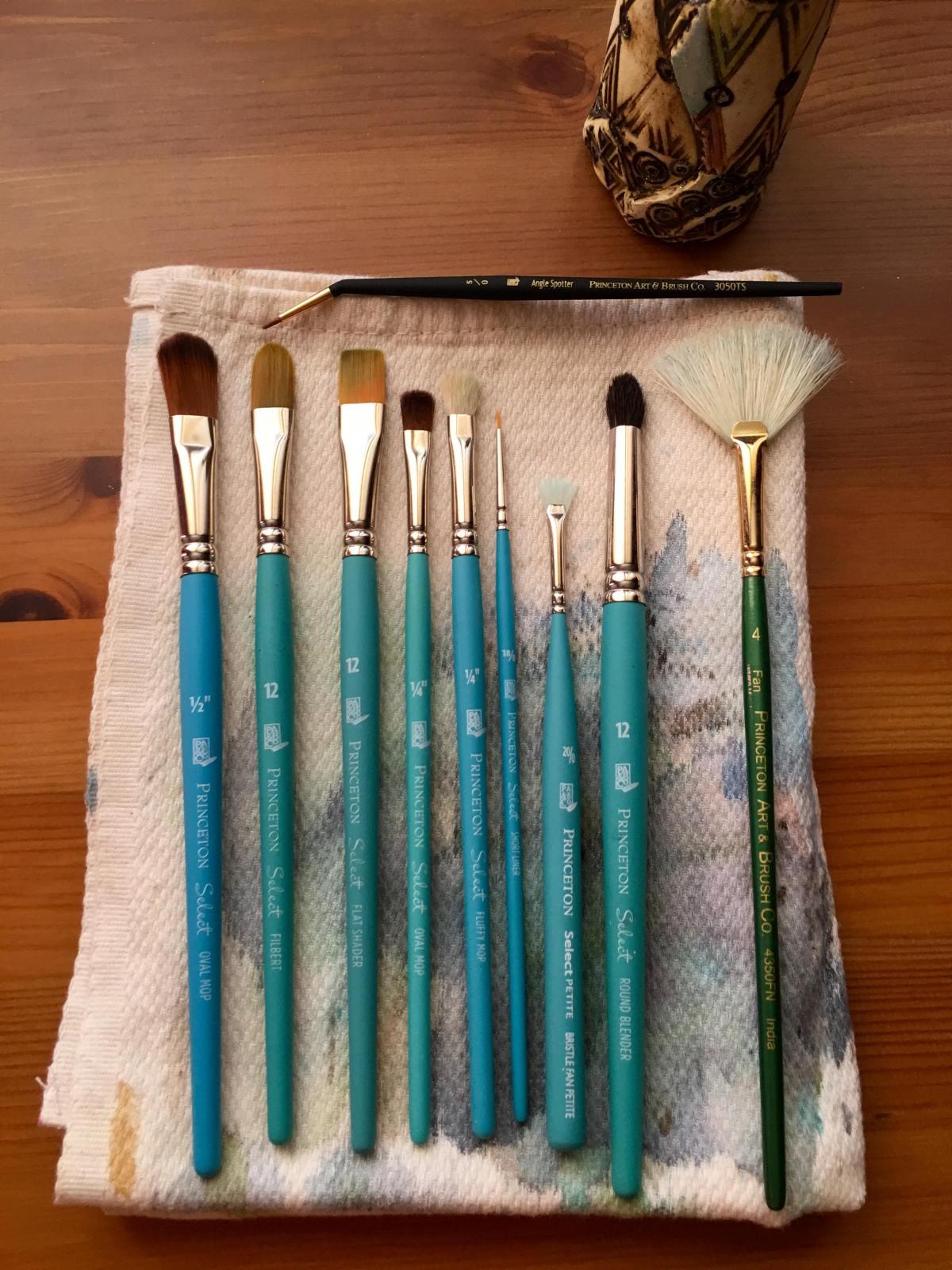 Princeton Series 3750 Select Brushes