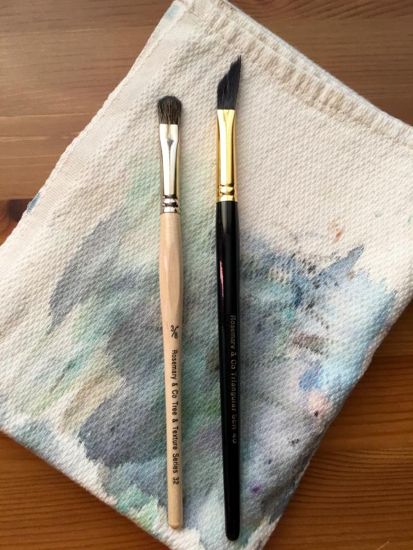 Rosemanry & Co. brushes, texture series and series 40