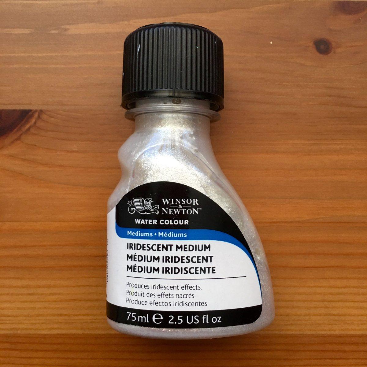 winsor & newton iridescent medium