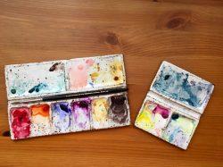 Winsor & Newton paint palettes