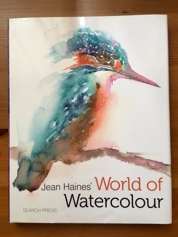 Jean Haines' world of watercolour book