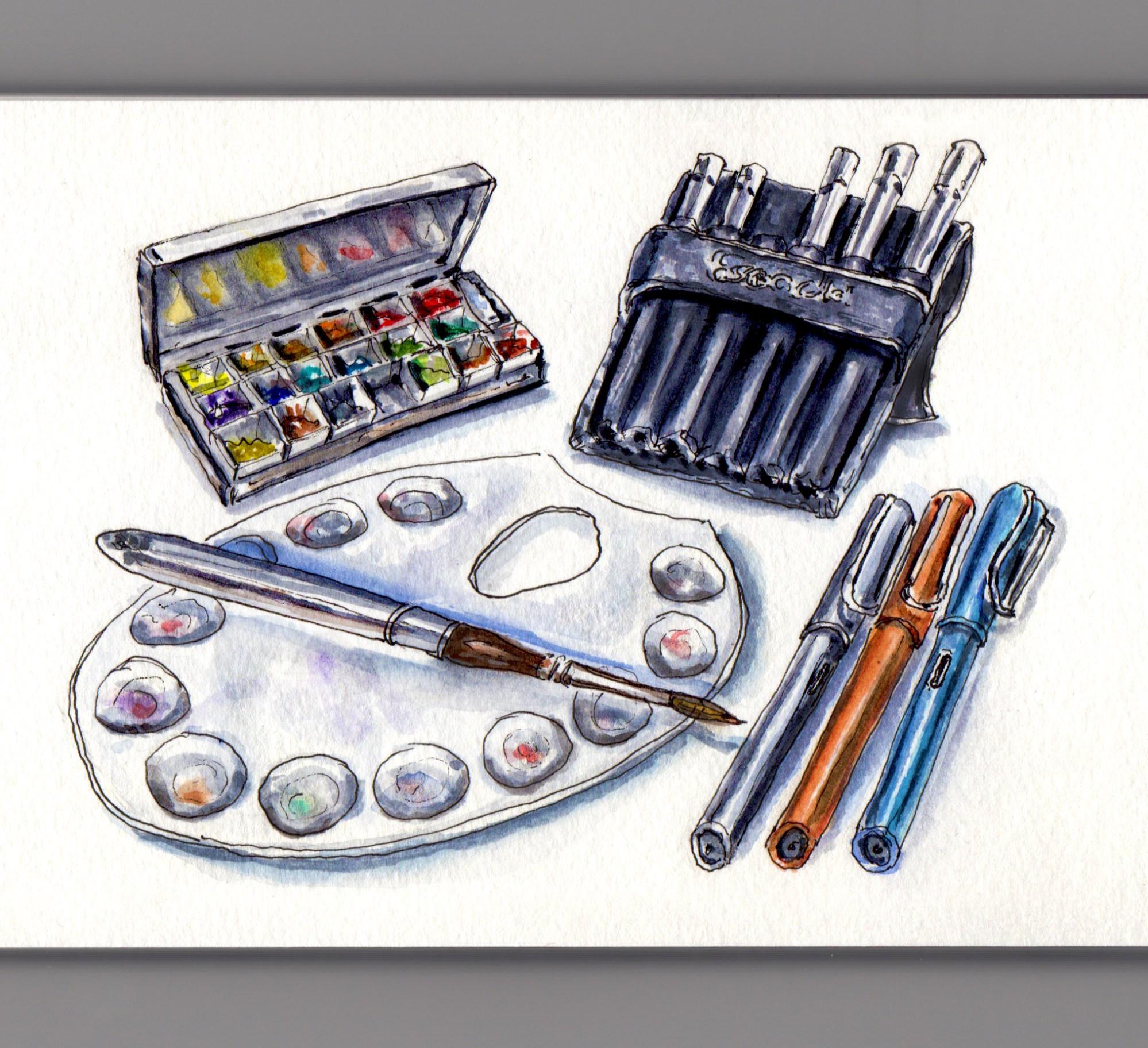 doodlewash my favorite art supplies