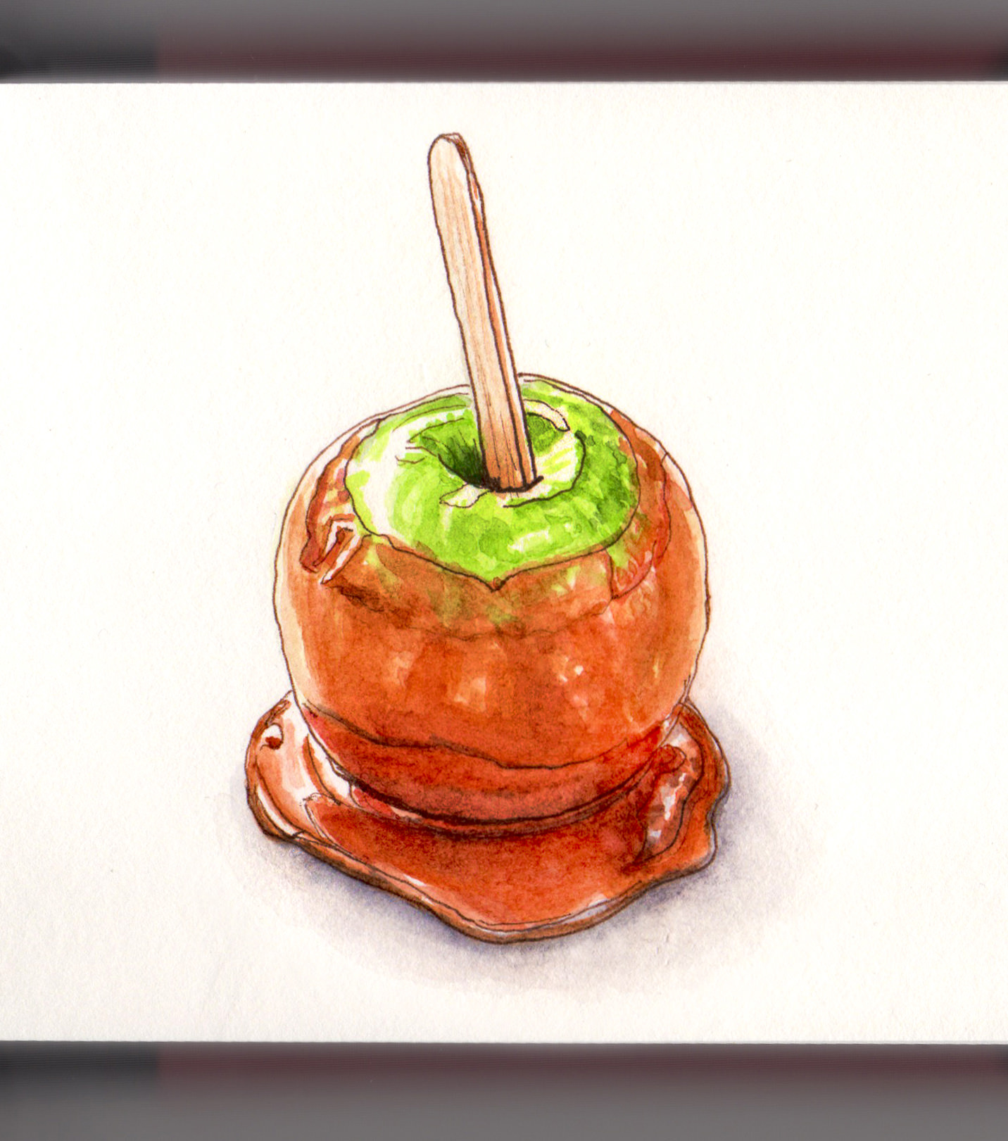 Caramel Apples Doodlewash
