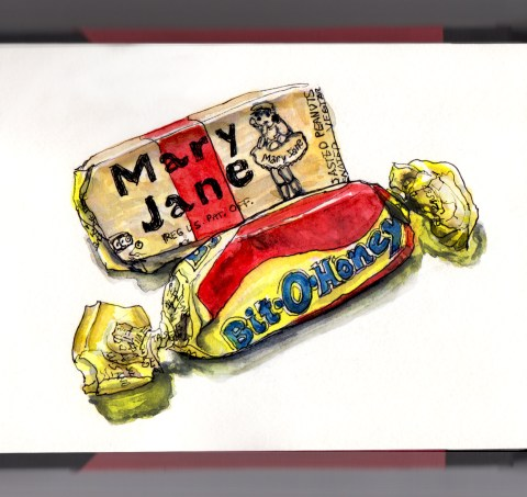 Day 30 - Vintage Candy Bit-O-Honey and Mary Jane Candy