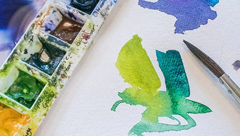 watercolor by Angela Fehr - Creative Watercolour Course - Techniques for Hobbyists, Art Journalers, Paper Crafters, Calligraphers and the Enthusiastic Amateur