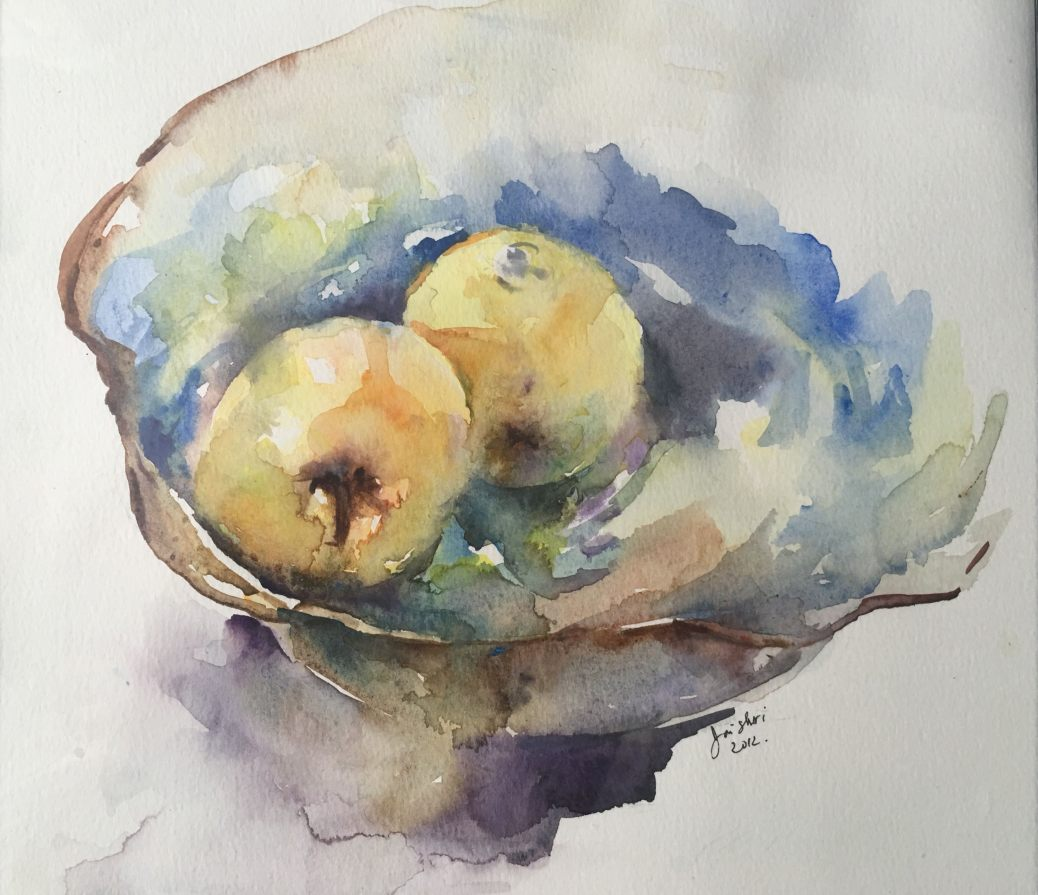 #WorldWatercolorGroup - Watercolor painting by Jayshree Rai - #doodlewash