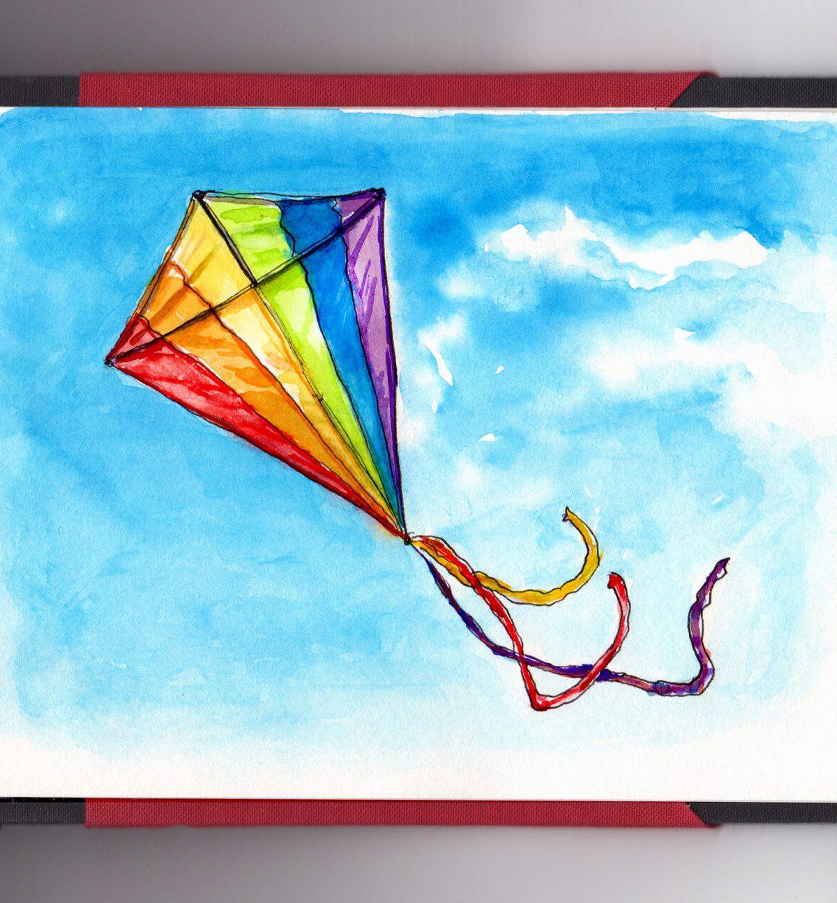 day-27-go-fly-a-kite-rainbow-blue-sky
