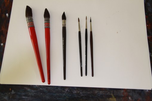 #WorldWatercolorGroup - Watercolor Brushes of Jan Min - #doodlewash