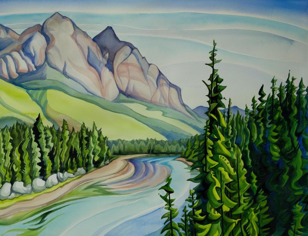 #WorldWatercolorGroup - Watercolor painting by Alisha B. Whitman - #doodlewash