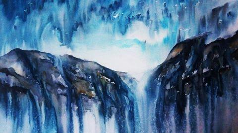 #WorldWatercolorGroup - Watercolor painting by Ramona - #doodlewash