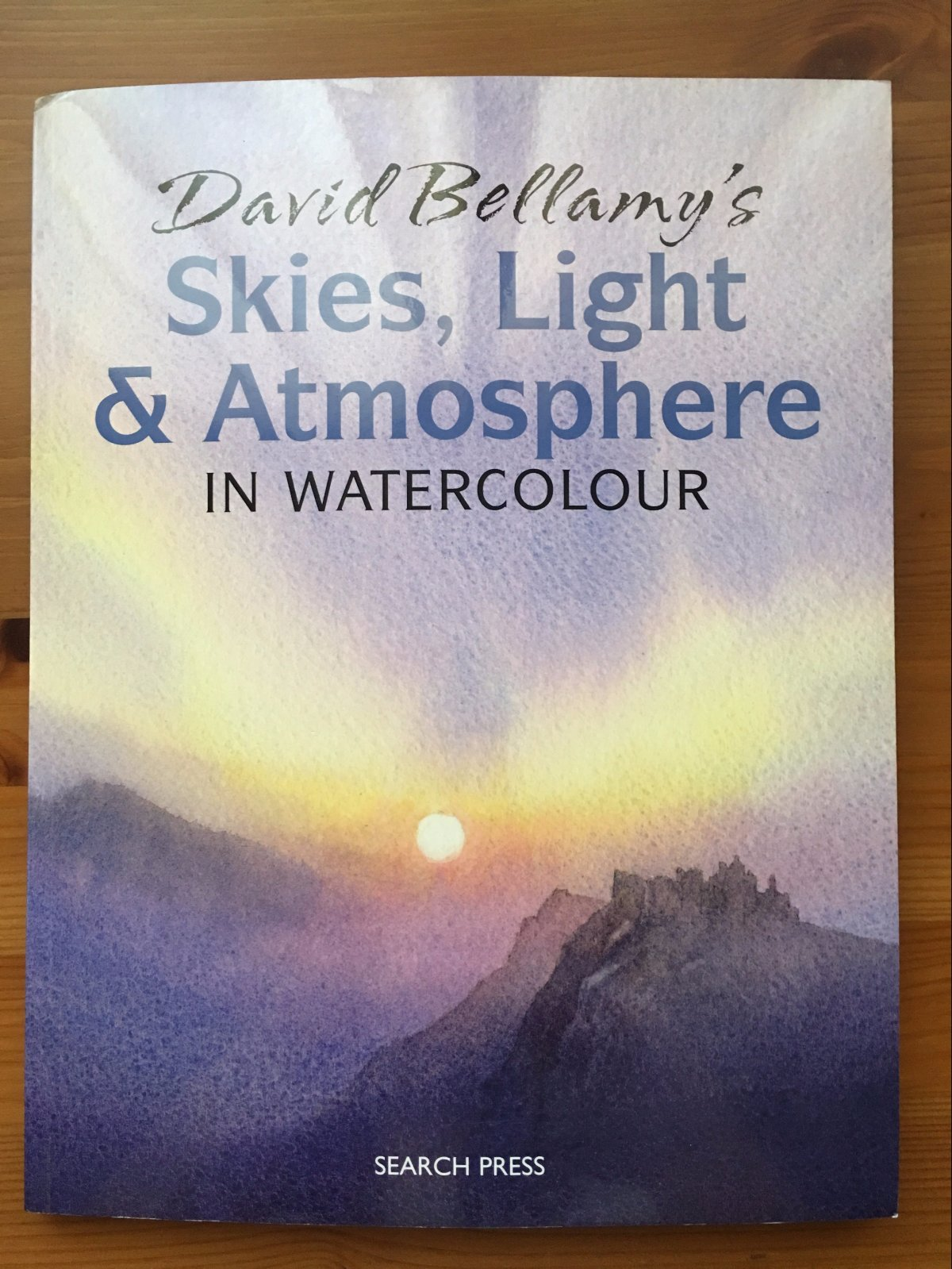 David Bellamy's skies, light & atmosphere in watercolour painting