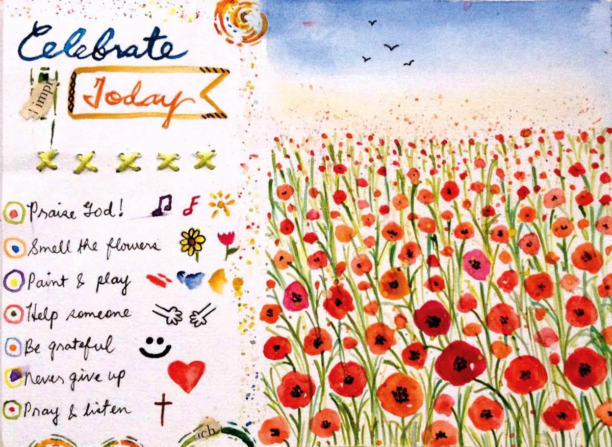 #WorldWatercolorGroup - Watercolor by Elisa Choi Ang - #doodlewash