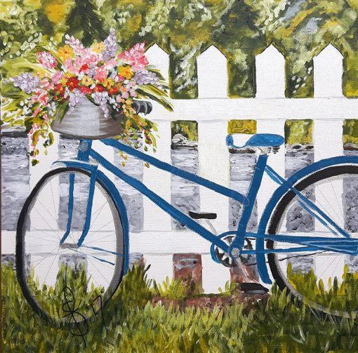 Acrylic Painting by Susan Feniak