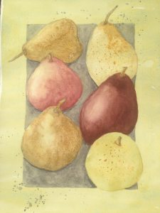 Pears from Jane Blundell's Mastering Watercolors IMG_2298