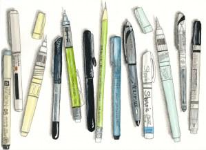 Pens & Waterbrushes