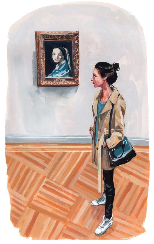 #WorldWatercolorGroup - Art by Jenny Kroik - Barbara Vermeer - #doodlewash