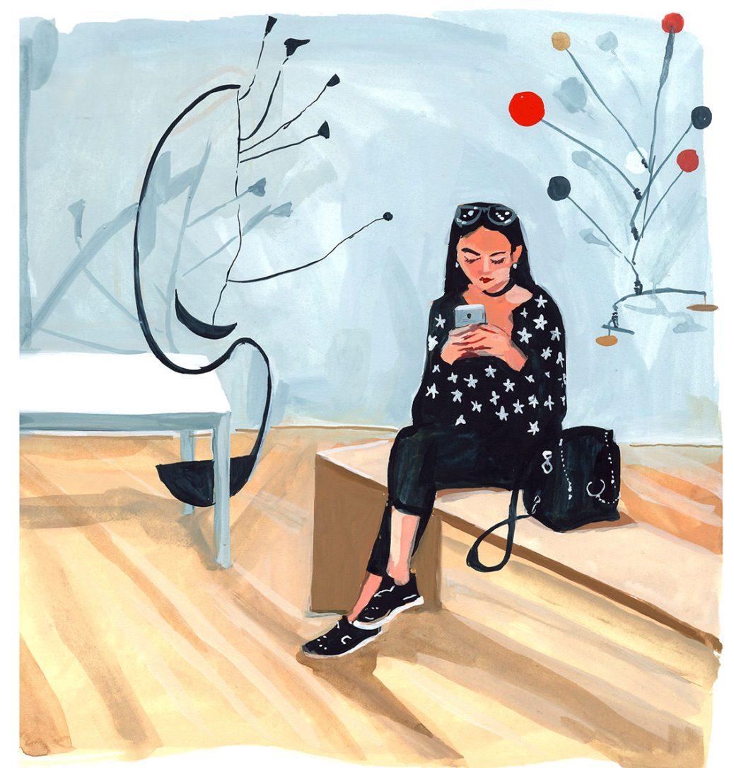 #WorldWatercolorGroup - Art by Jenny Kroik - Calder - #doodlewash