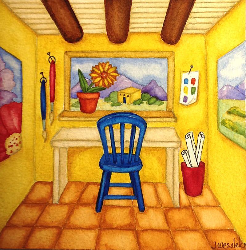 #WorldWatercolorGroup - Watercolor by Jessica Wesolek - Studio - #doodlewash