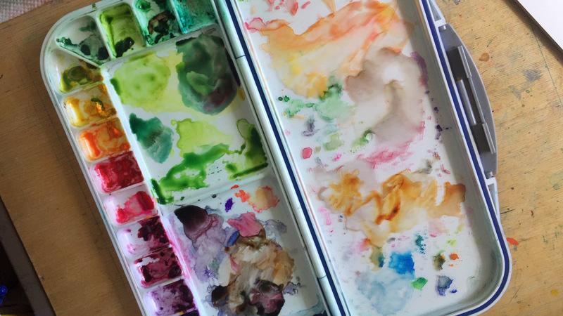 World Watercolor Month - Palette of Leyla Torres - Doodlewash