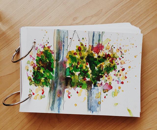 practice on a diy journal 🙂 36193413416_1547c7ac52_z