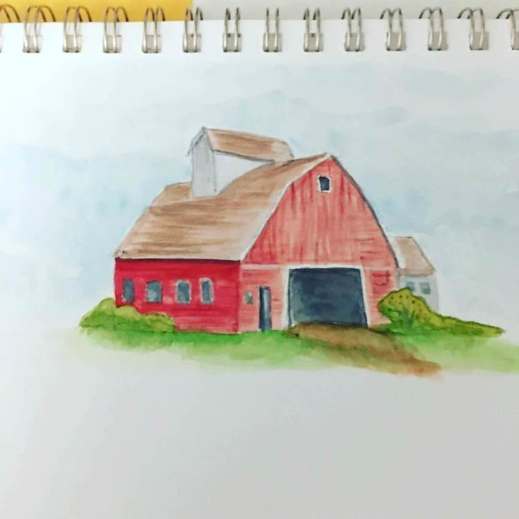 My first watercolor project. IMG_0907