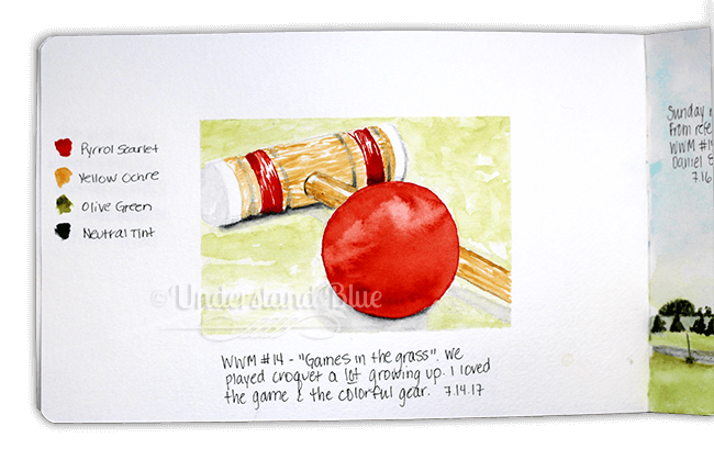 WWM #14 – my favorite game in the grass. I think I initially loved Croquet because like Sorry