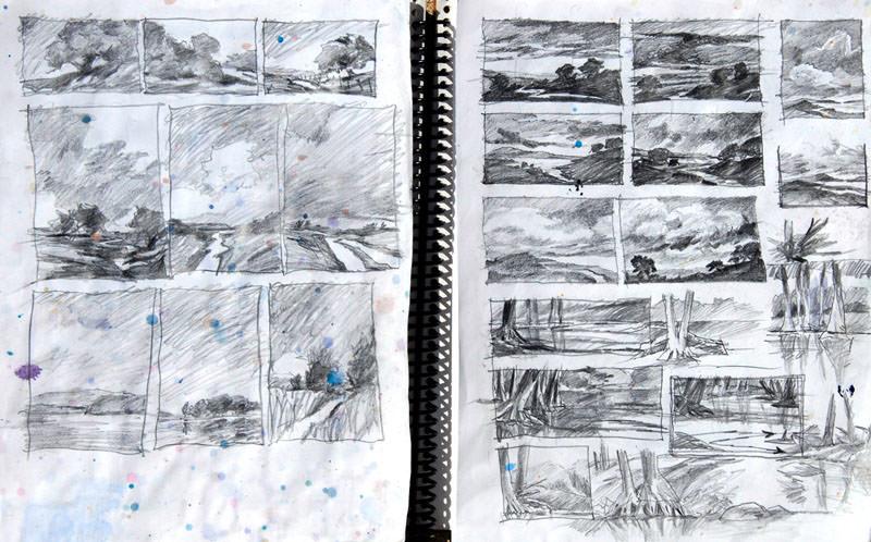 World Watercolor Month - Virgil Carter sketchbook - Doodlewash
