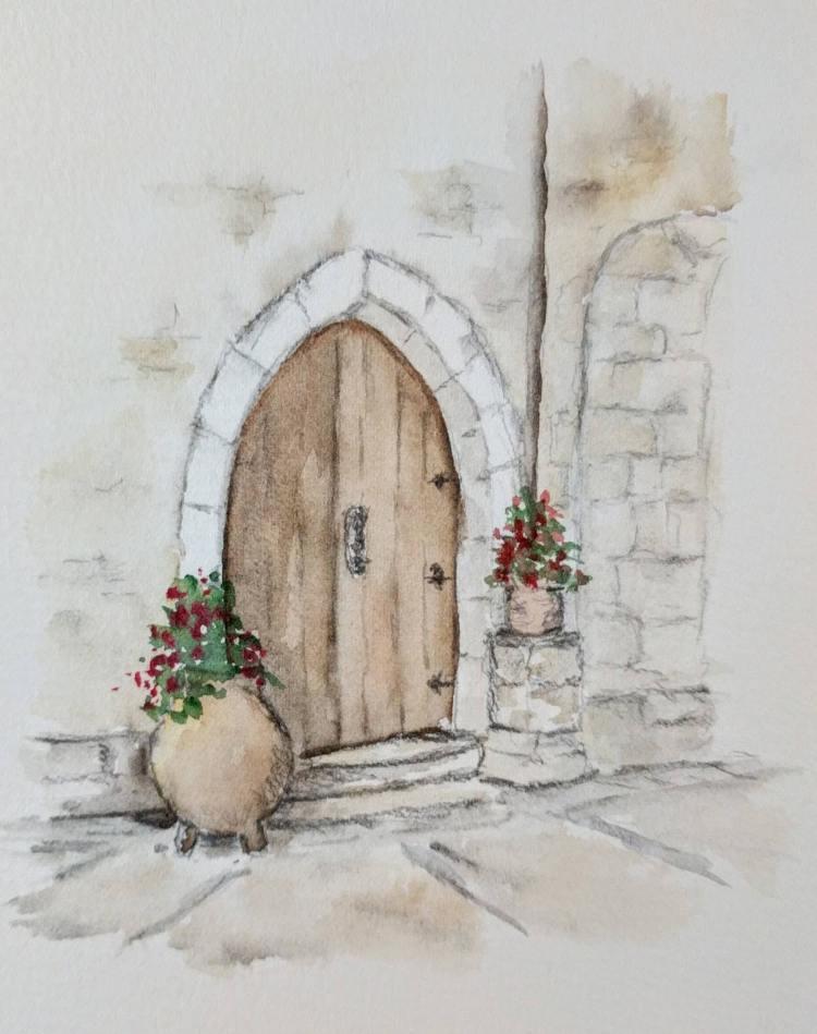 gothic doorway