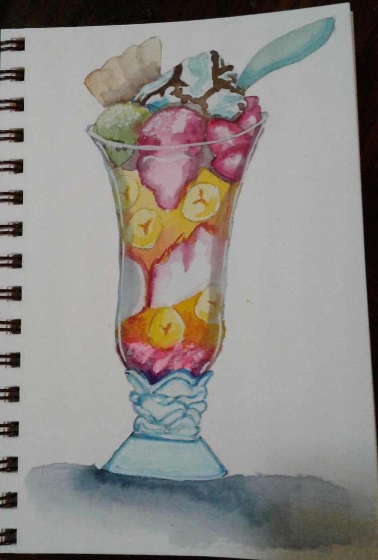Day 37..favorite dessert. While I like and will eat just about any dessert, I am rather fond of simp