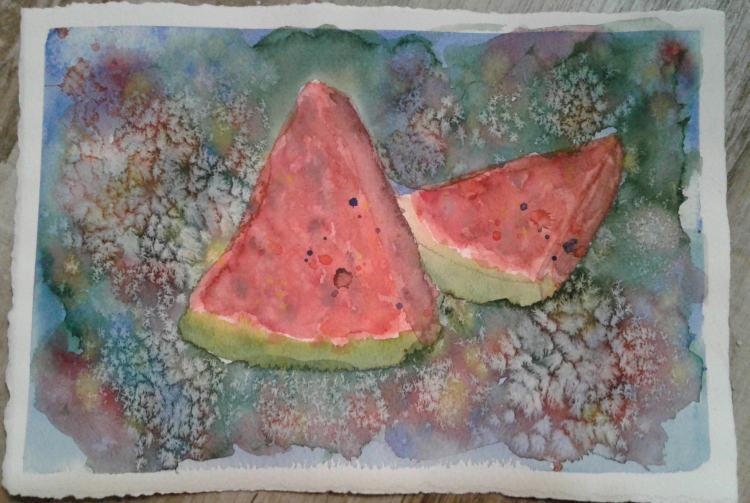 Day 40…favorite fruit I actually like most all fruit, but watermelon is one of my favorites. I