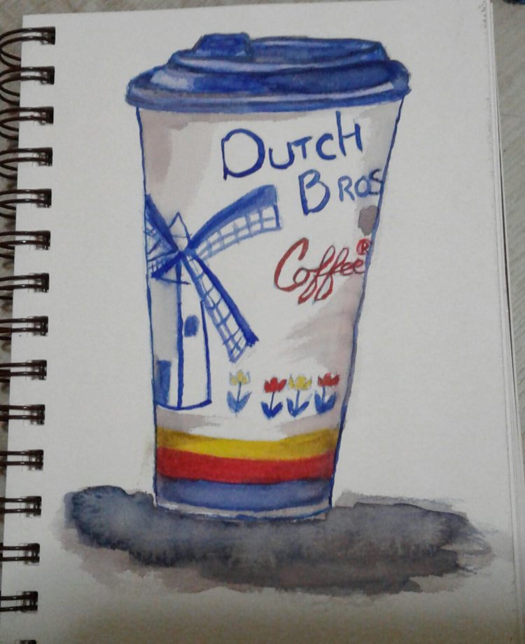 Day 45…favorite drink. My favorite drink is a large hot Annihilator from Dutch Bros. Lol I am